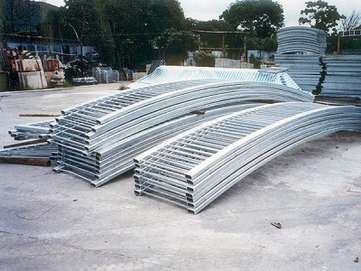 彎型扁通欄河(Curved Railing)