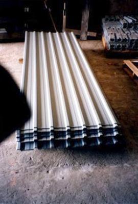 環保坑板 Prepainted Hoarding Steel Sheet