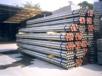 各類鉛水牙喉 Galvanize Pipes with Threads and Couplings