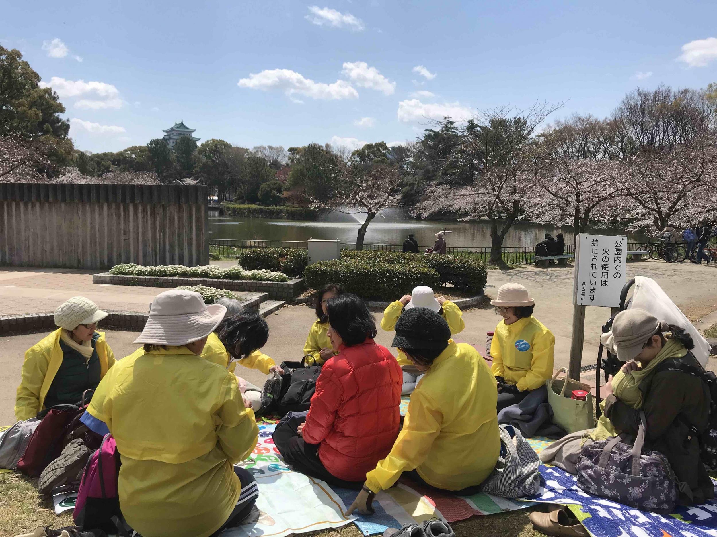 2019年お花見(水曜クラス)