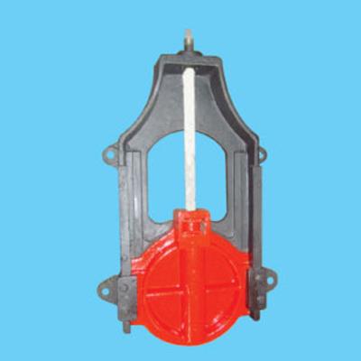 AXF型暗桿式鑄鐵鑲銅方閘門