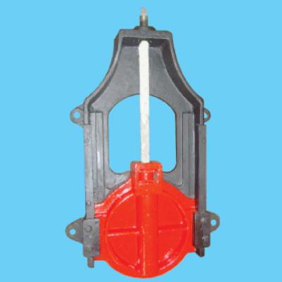 AXY型暗稈式鑄鐵鑲銅圓閘門