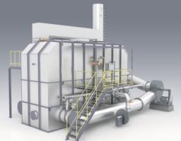 RCO蓄热式催化燃烧设备