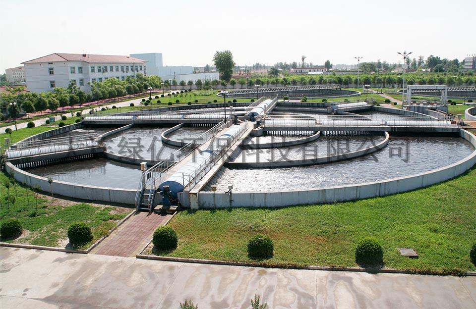 中日政府合作泰州市戴南镇生活污水处理示范工程