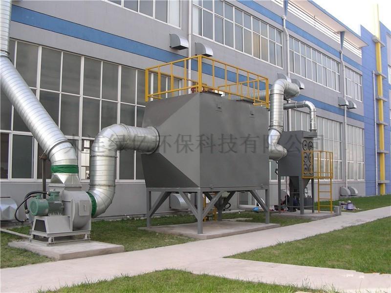 广东佳明电器有限公司喷漆废气净化工程