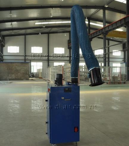 豪森设备制造有限公司厂房烟尘净化工程