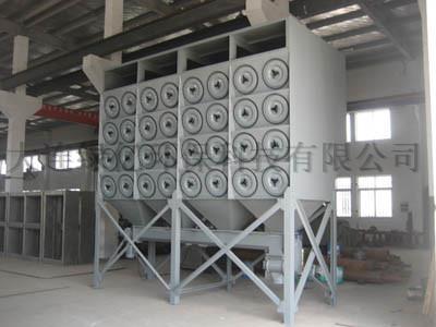 甘肃省庄浪县职业教育中心焊烟净化工程竣工