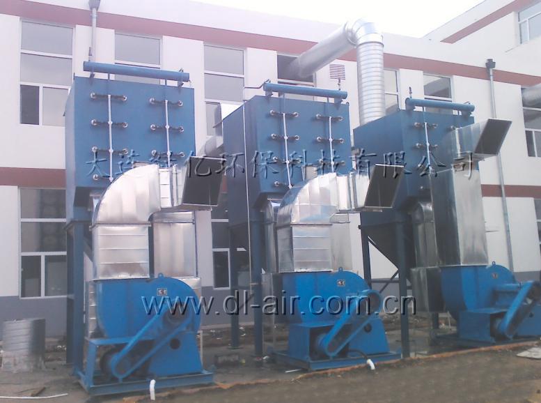 吉林石化工程学校焊接工位烟尘净化工程