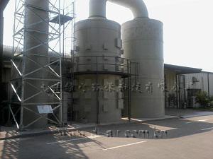 大连保税区三霖制冷设备有限公司酸雾废气净化工程