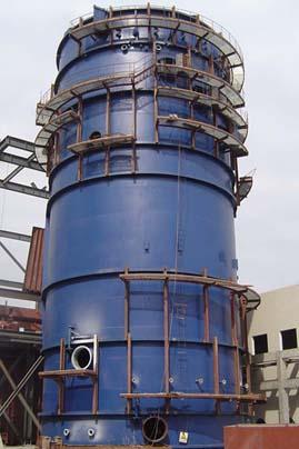 大连裕丰供热集团2台15T烟塔一体脱硫项目