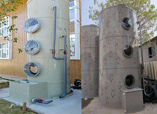 阻燃水喷淋净化塔装置
