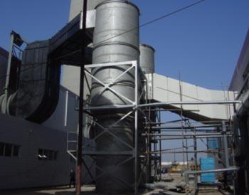 大连鹏辉物业3台20T锅炉脱硫除尘改造项目