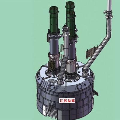 密闭组合式把持器矿热炉