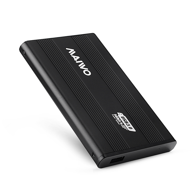 K2501AU3S Aluminum USB3.2 GEN1 to SATA  Enclosure