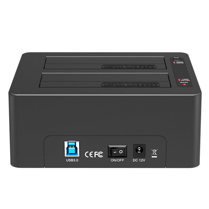 K3082A 1:1 USB3.0 Clone docking station
