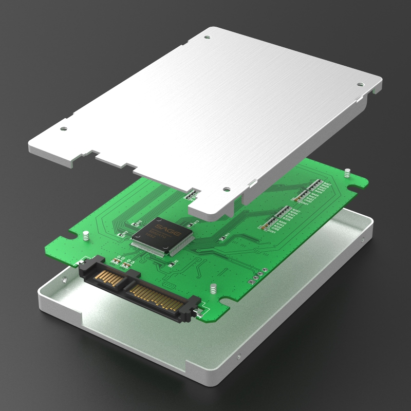 KT037B2 SATA to Micro SD(TF)*4