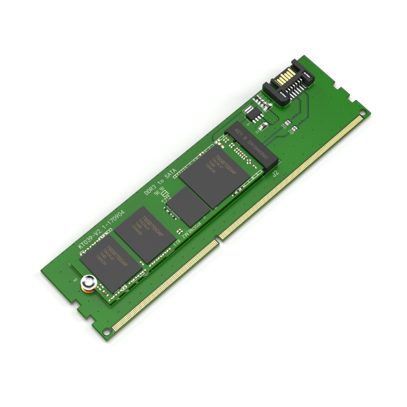 KT039 SATA to M.2(NGFF) DDR3 Powered