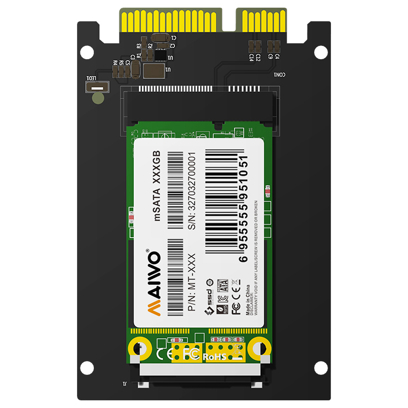 KT041 SATA to mSATA Adapter