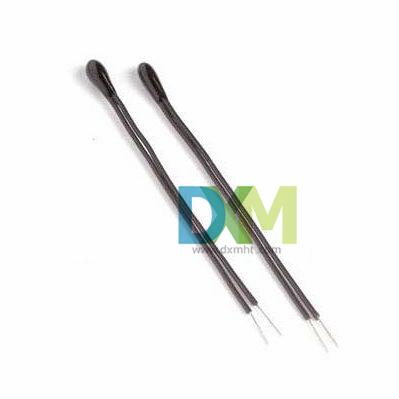 树脂涂装珠状精密引线型温度检测NTC热敏电阻-MF52系列