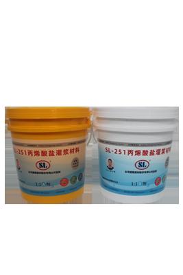 SL-251丙烯酸盐灌浆材料