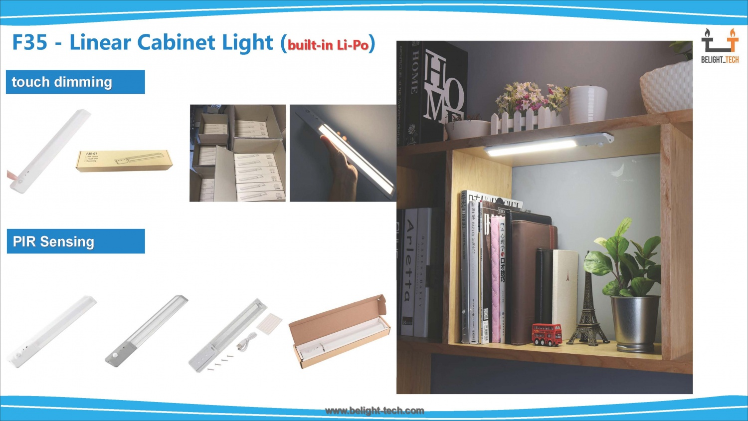 Linear Cabinet Light-C35·F35