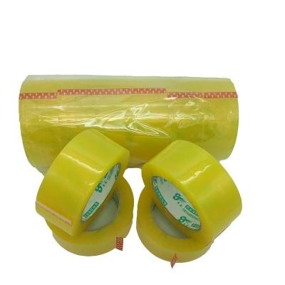 布尔萨体育YS-001 Clear Yellow Bopp Sealing Packing
