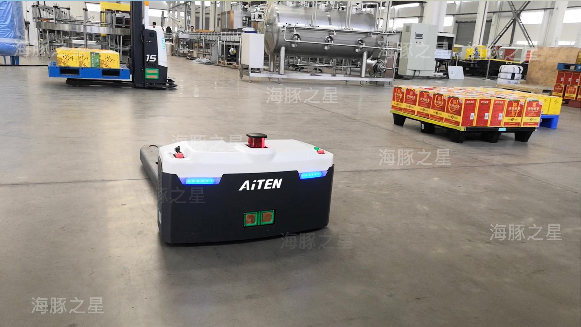 AGV小车推动制造业智能化转型