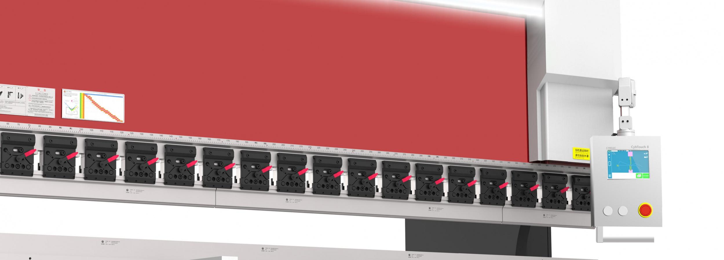 不锈钢折弯机的数控系统CT8有什么特点?