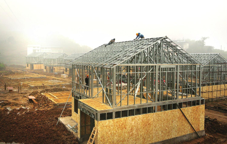 雙鋼結構才是未來農村建房新趨勢