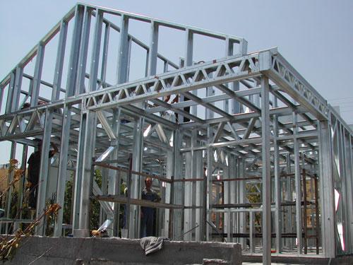 钢结构别墅工程案例