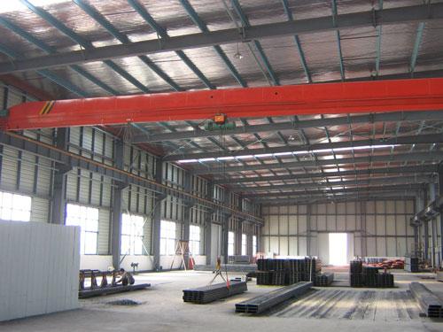 钢结构车间工程案例2