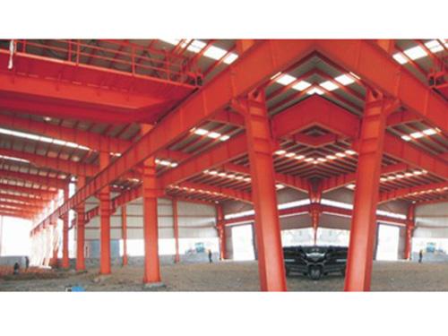 钢结构车间厂房工程案例2