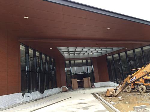 钢结构售楼部工程案例