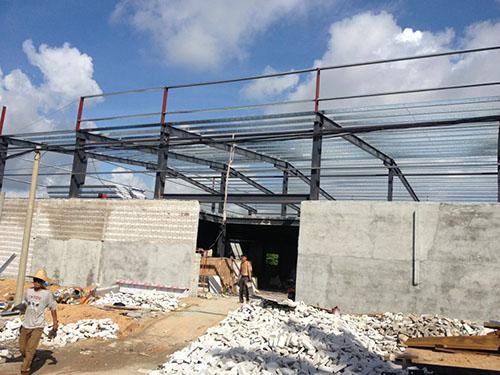 两层钢结构厂房工程案例