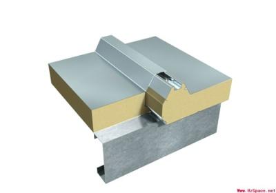 搭接式連接夾芯板屋面系統