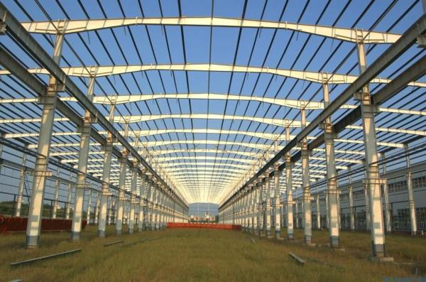 安阳市宏源型钢有限责任公司生产车间