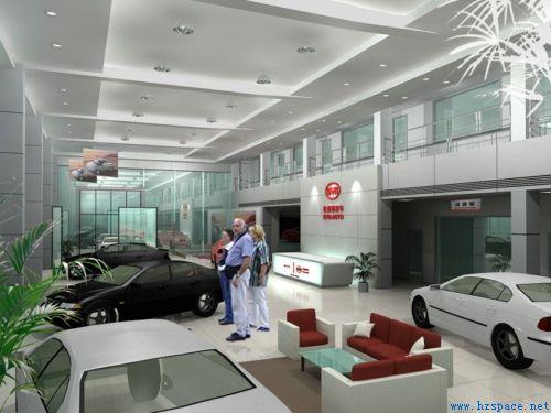 平顶山报仁达汽车销售服务有限责任公司轻钢结构办公楼及展厅