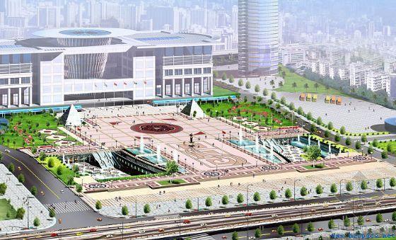 武漢國際會展中心鋼結構工程