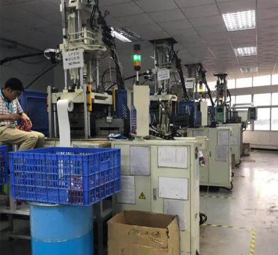 silicone injection production room