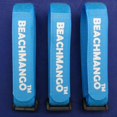 塑料扣彩色魔术贴绑带YBD-20X300BLU