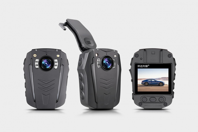 執法先鋒PD70真4K超高清記錄儀選配GPS/WIFI