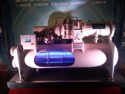 超高效双级压缩降模式离心机组7