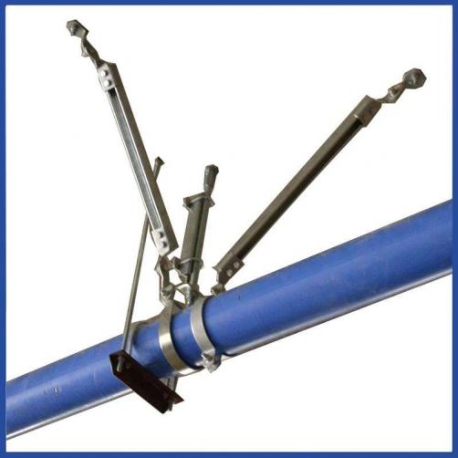 建築附屬機電設備支架的基本抗震措施