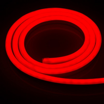 LED Mini Neon Lights, 120V Dimmable Neon Rope Lights, 120LEDs/M, for Indoor Outdoor Decoration,RED