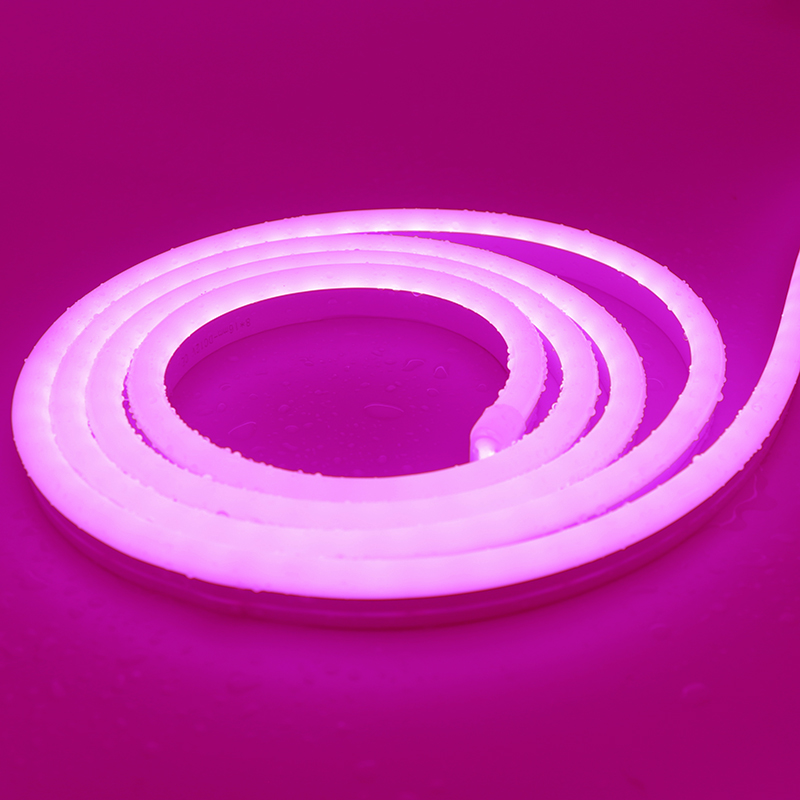 6*12mm SMD2835 Pink 12V Pure Silicone LED neon light