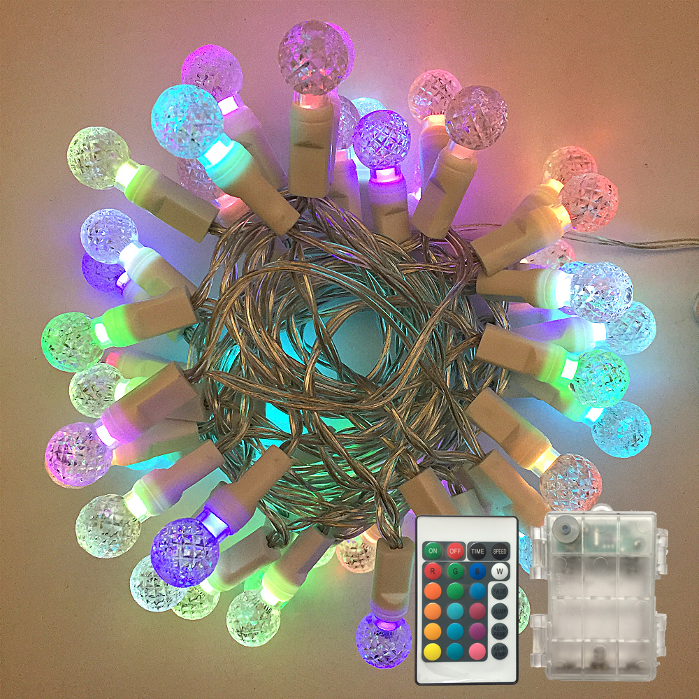 3V /120V G12 LED String Lights