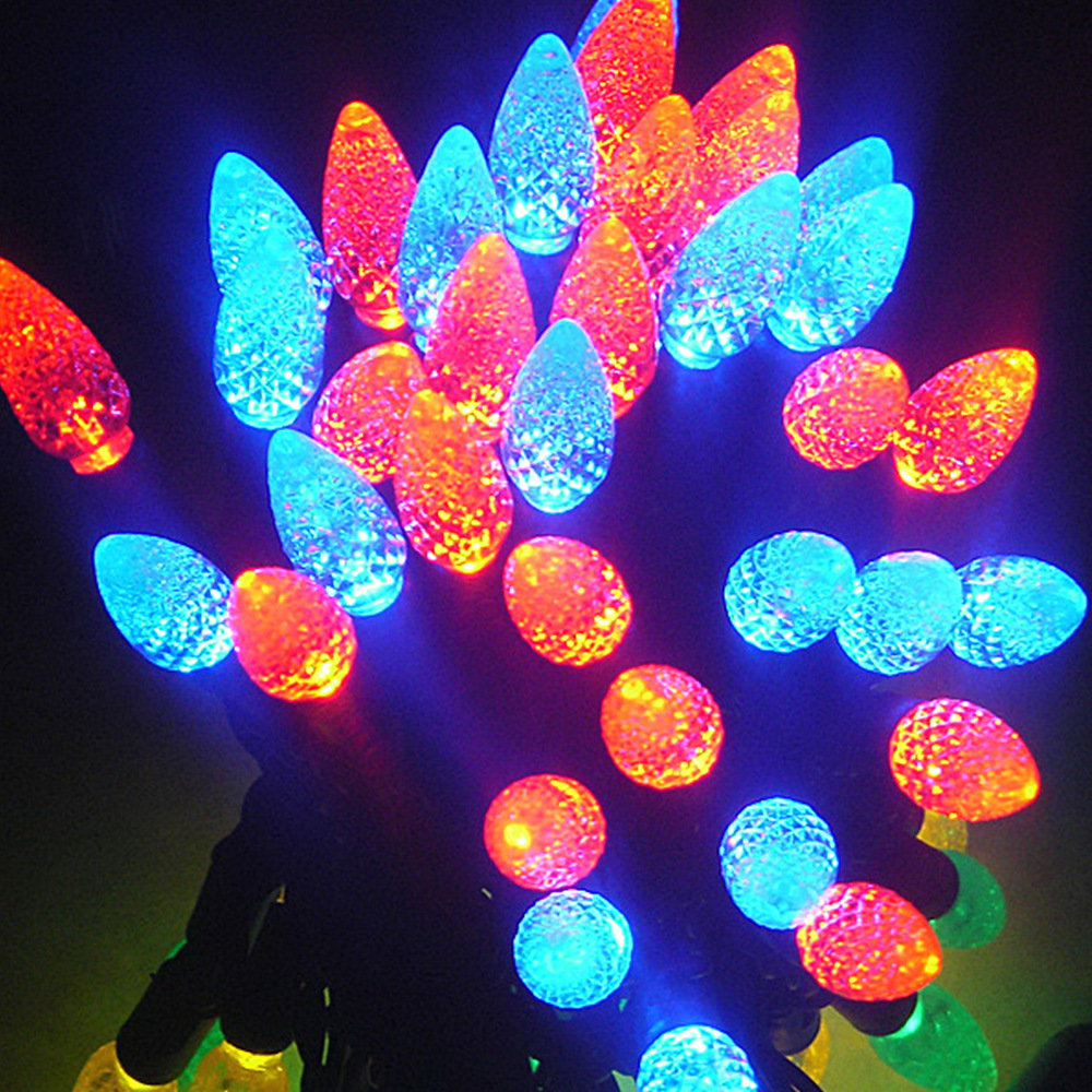 3V/120V C6 LED String Lights