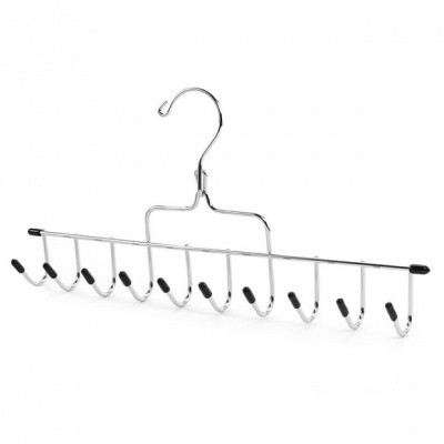 Chrome Accessory Hanger For Belts, Ties, Scarves & Jewellery