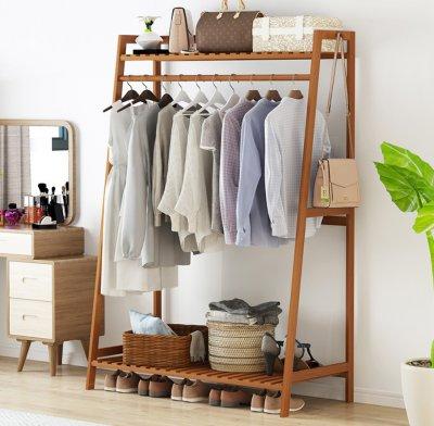 wooden Stand Hanger&rack