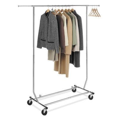 Foldable Clothing Garment Rolling Clothes Drying Rack for Laundry